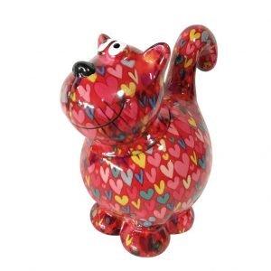 Decoaroma-Pomme-Pidou-COOKIE-JAR-CAT-DOROTHY-Rojo-Corazones-1