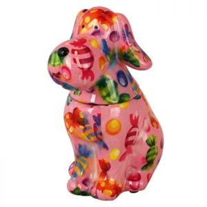 Decoaroma-Pomme-Pidou-COOKIE-JAR-DOG-TOBY-Rosa-1