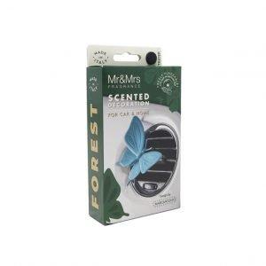 Decoaroma-Mr-Mrs-Fragrance-Ambientador-Auto-Forest-Mariposa-Celeste-2